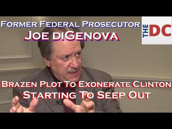 Brazen Plot To Exonerate Clinton' Starting To Seep Out Daily Caller Interviews Joe DiGenova