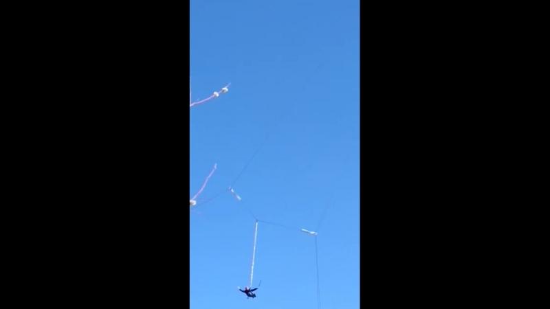 Прыжок с трубы 60 метров