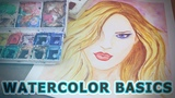 The Basics of Watercolor - Watercolor Tutorials - Intro to Watercolor