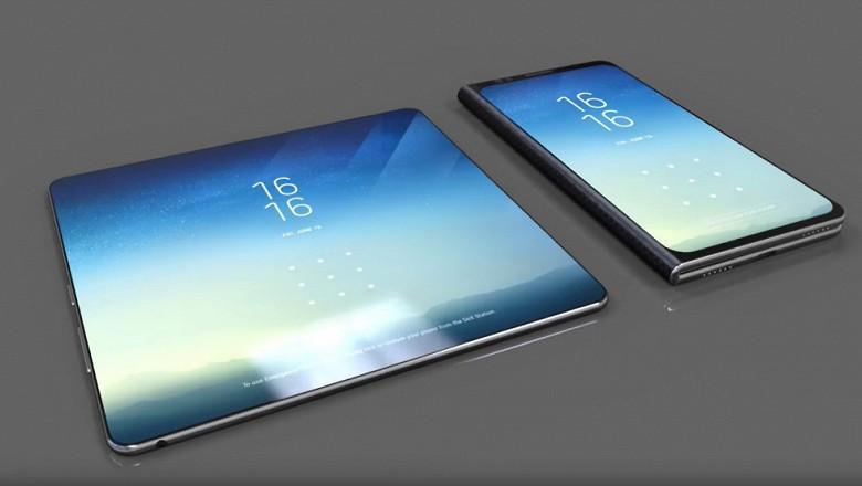 Смартфон от Samsung со сгибающимся дисплеем получит дополнительный экран снаружи.