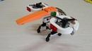 Собираем конструктор Lego Creator Дрон-разведчик для детей, часть 1