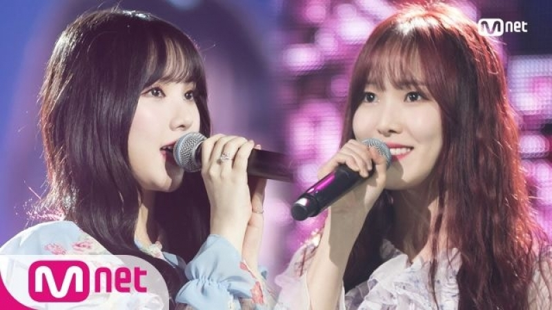180419 Eunha (은하) Yuju (유주) of GFRIEND (여자친구) - Spring is Gone by Chance (우연히 봄) Je Taime