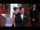 Benedict and Sophie chatting their way on the BAFTAs Red Carpet - February 8, 2015