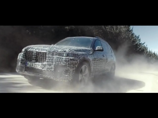 Bmw x7 undergoes endurance tests under extreme conditions