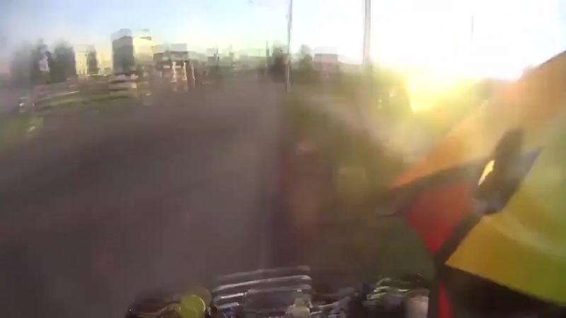 На квадроцикле от полиции