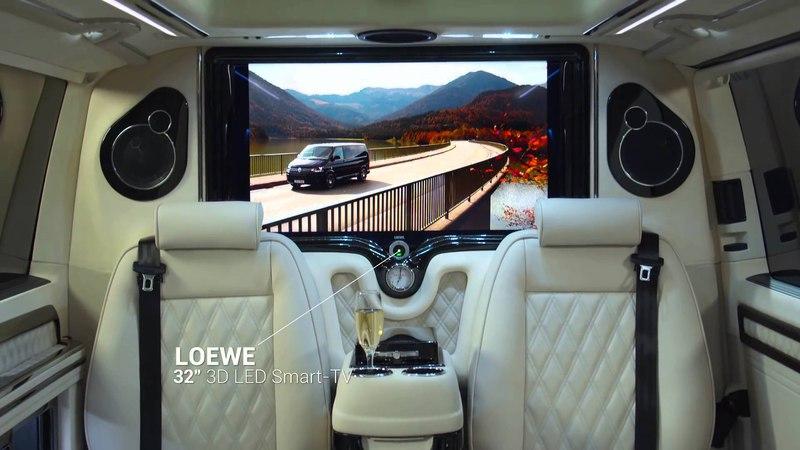 KLASSEN Car Design Technology - Volkswagen T5 VIP Limousine Business deluxe Van