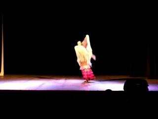 II Сибирский фестиваль фламенко iOle con Ole!.  «Студия  «Фиеста фламенко» Алегриас (21.4.2018)