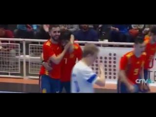 Espana vs Finlandia. Primer partido