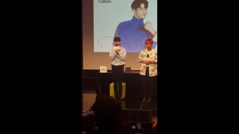 180802 • Wanna One • Clavis Fansign
