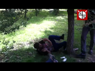 Комитет Бдительности vol.7 скинхеды скины бьют чурок драка skinheads attack immigrants white power