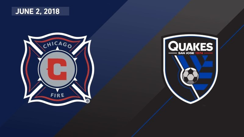 HIGHLIGHTS: Chicago Fire vs. San Jose Earthquakes | June 2, 2018