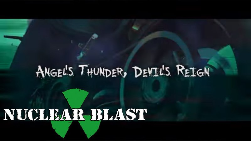 RIOT V Angel's Thunder Devil's Reign OFFICIAL LYRIC VIDEO