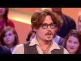 Johnny Depp Interview in French TV Show RARE
