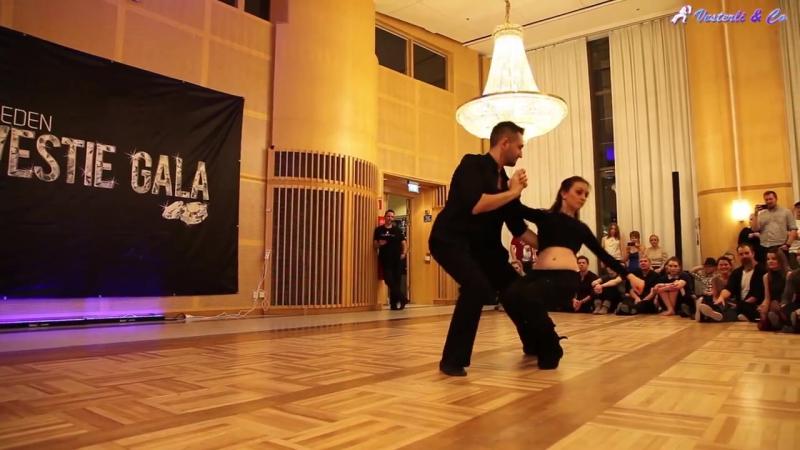 Ирина Пузанова и Андрей Наволоцкий. Sweden Westie Gala 2018