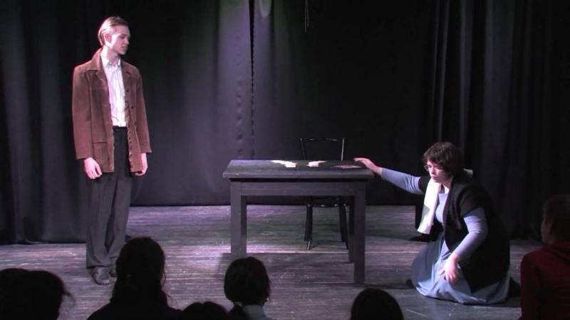 Д.Хармс, маленькие пьесы (труппа 642 школы, Ева Дурыничева)