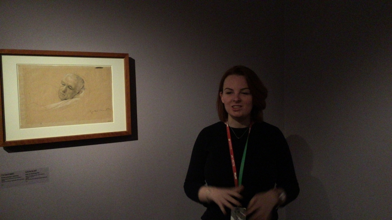Экскурсия по выставке «Густав Климт. Эгон Шиле. Рисунки из музея Альбертина (Вена)»