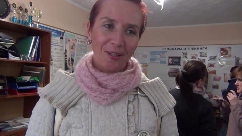 Отзыв Марины Соколовой о семинаре Ирины Угрюмовой