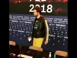 16 февраля 2018 - Роберт на пресс-конференция фильма «Девица»