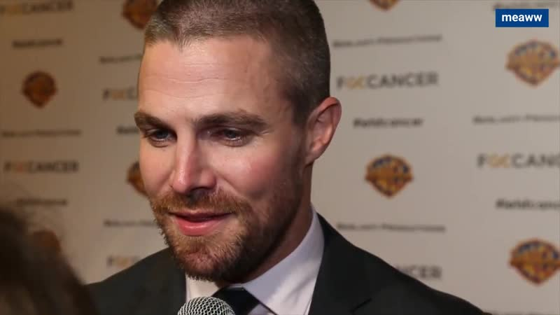 Stephen Amell talks about the new season of Arrow and F Cancer