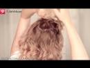 Праздничная-вечерняя-свадебная причёска своими руками