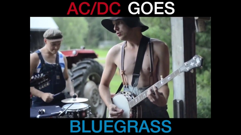 Steve'n'Seagulls covered 'Thunderstruck' and it's so good
