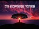 Om Suryaya Namaha Surya Namaskar mantra Sun salutation 108 meditation chants GF Productions