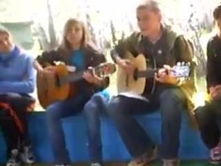 Песенка бао-баб в исполнении Саши и Вики