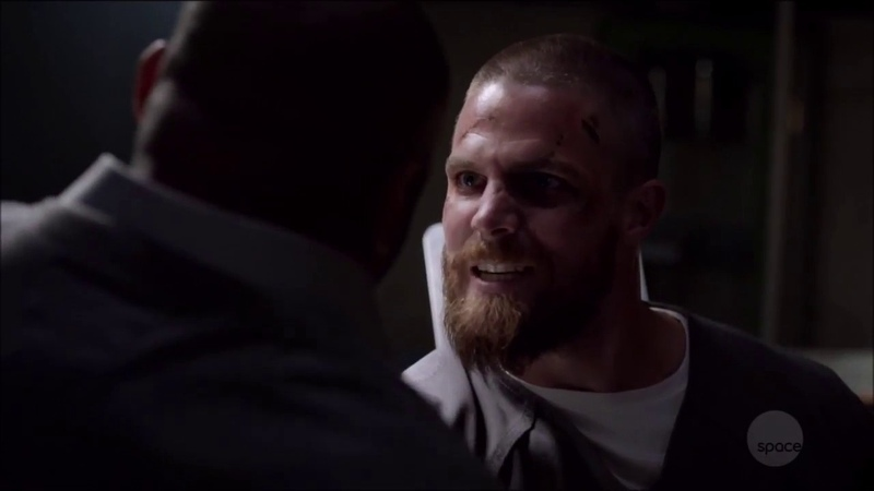 Arrow Oliver 7x05 prison Scenes Part 4 My name IS OLIVER QUEEN