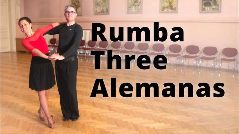 Rumba Three Alemanas   Dance Routine and Figures