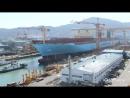 Maersk Line Building the Triple E Timelapse