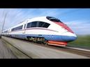 Строительство скоростной железной дороги в Крым через Керченский мост.