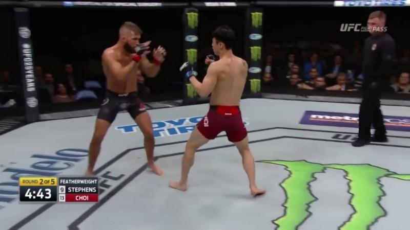 Video HIGHTLIGHT 13 ШОК!ВОТ ЭТО БОЙ! Джереми Стивенс vs Ду Хо Чои !НОКАУТ!