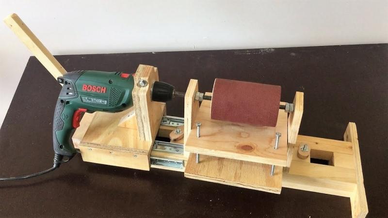 4 in 1 Drill Press Build Pt3 - Thickness Sander - 4 in 1 Sütun Matkap 3. Bölüm