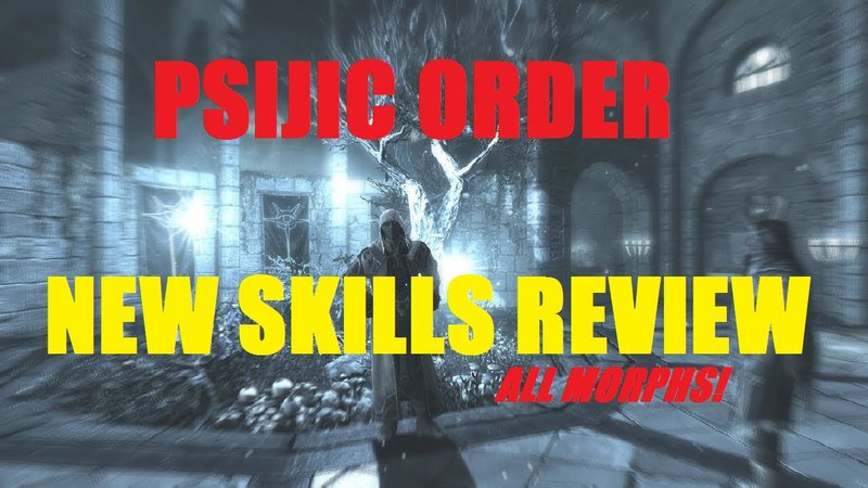 Psijic Order Skill-line ALL MORPHS - PAY TO WIN OR NOT?!