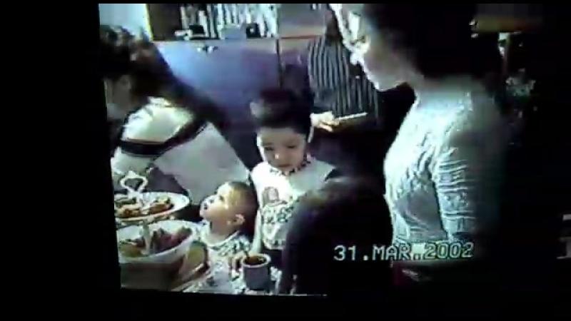 День рождения дочки Эльвиры 5 лет 2002.31.03.