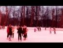 катаемся на коньках семейный досуг твотер