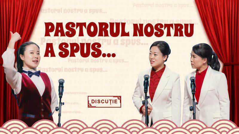 """Spectacol de varietăți creștin """"Pastorul nostru a spus"""" (Replici)"""