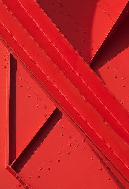 Red facades