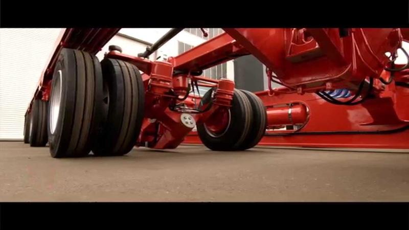 SCHEUERLE HighwayGiant - Innovative modular Dual Lane Trailer concept