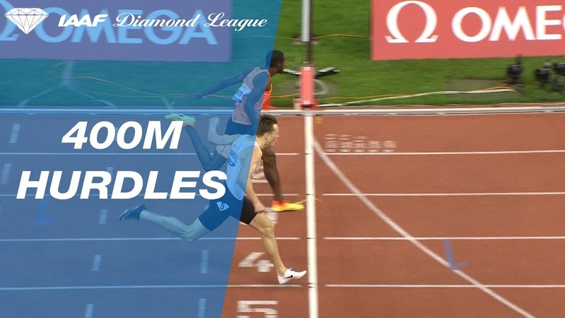 Men's 400m Hurdles Comes Down to the Wire!