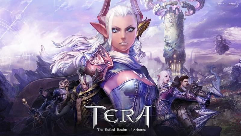 TERA online Euro test PS4
