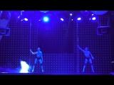 Харченко Карина, Гребенкина Елизавета. II место Pole Dance Duet professionals. Сибирские гонки по вертикали «4 Стихии»