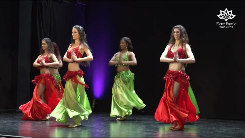 Drum Solo Belly Dance by Fleur Estelle Dance Company to SAIDA DRUM (Matias Hazrum)