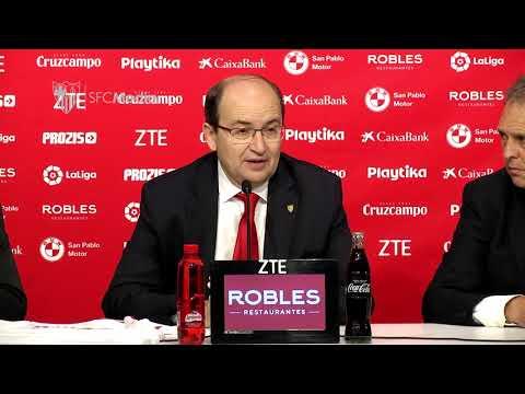 Castro: estamos muy ilusionados con un entrenador de nuestra filosofía 30/5/18 Sevilla FC