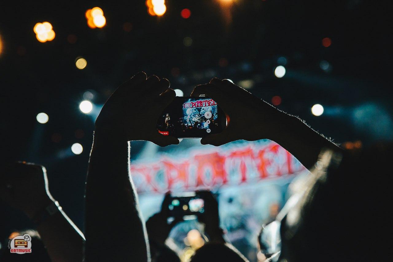 Концерт The Exploited в ГЛАВCLUB GREEN CONCERT: как это было? Екатерина Шуть