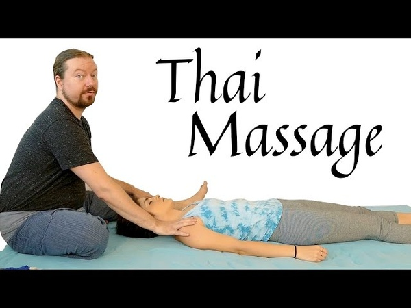 Back Pain Relief: Thai Massage Tutorial, Upper Back Arms, Carpal Tunnel, How to Massage