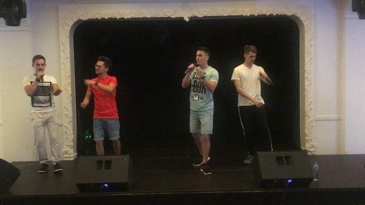 """ACTION BAND on Instagram: """"@actionband.official и саундчек перед выступлением👌👌👌 actionbandofficial music boyband Kiev band музыка"""""""