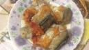 Минтай тушеный с овощами в мультиварке