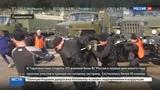 Новости на Россия 24 Суровый Новый год военные приседали с мешками песка и таскали