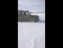 Уаз не хочет виснуть на мостах. Испытание в жестком снегу глубиной до 70см
